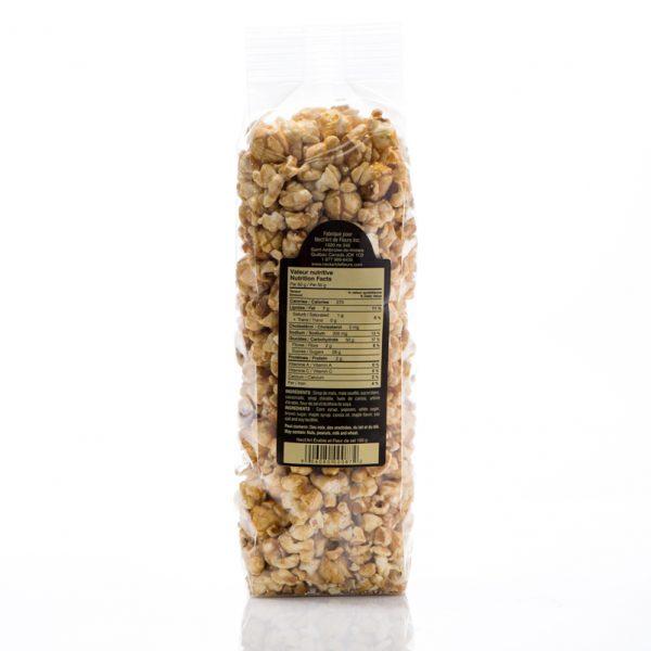 Popcorn à l'érable et fleur de sel de Nect'Art de fleurs