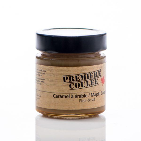 Caramel à l'érable et fleur de sel 300 g de Première Coulée